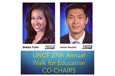 UNCF 27th Annual Walk for Education CO-CHAIRS