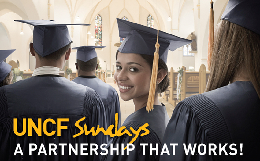 UNCF Sundays - A Partnership that Works!